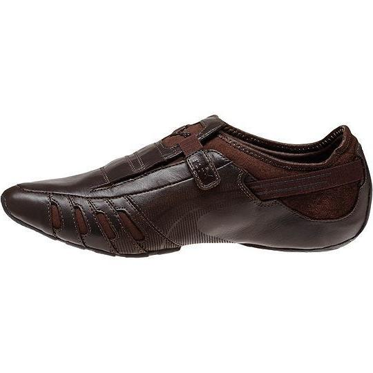 NEW** LEATHER MEN'S SHOES COFFEE BROWN SIZES DRESS