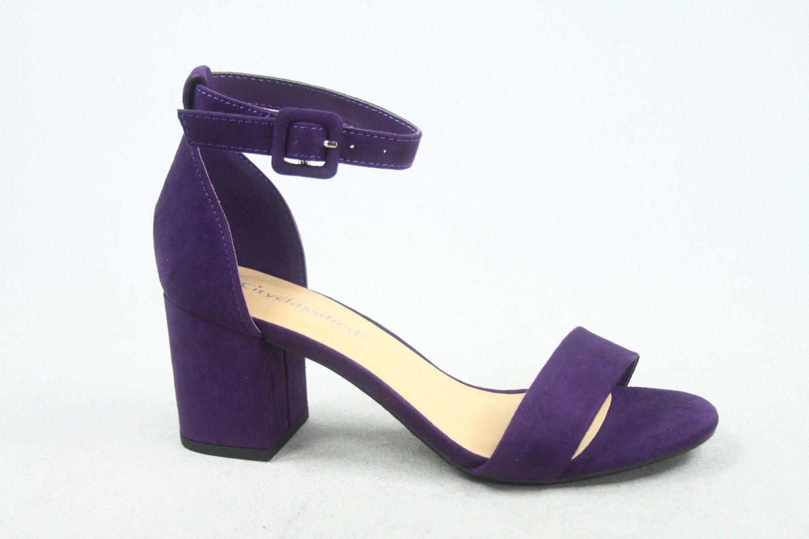 NEW Strap Heel Sandal Size