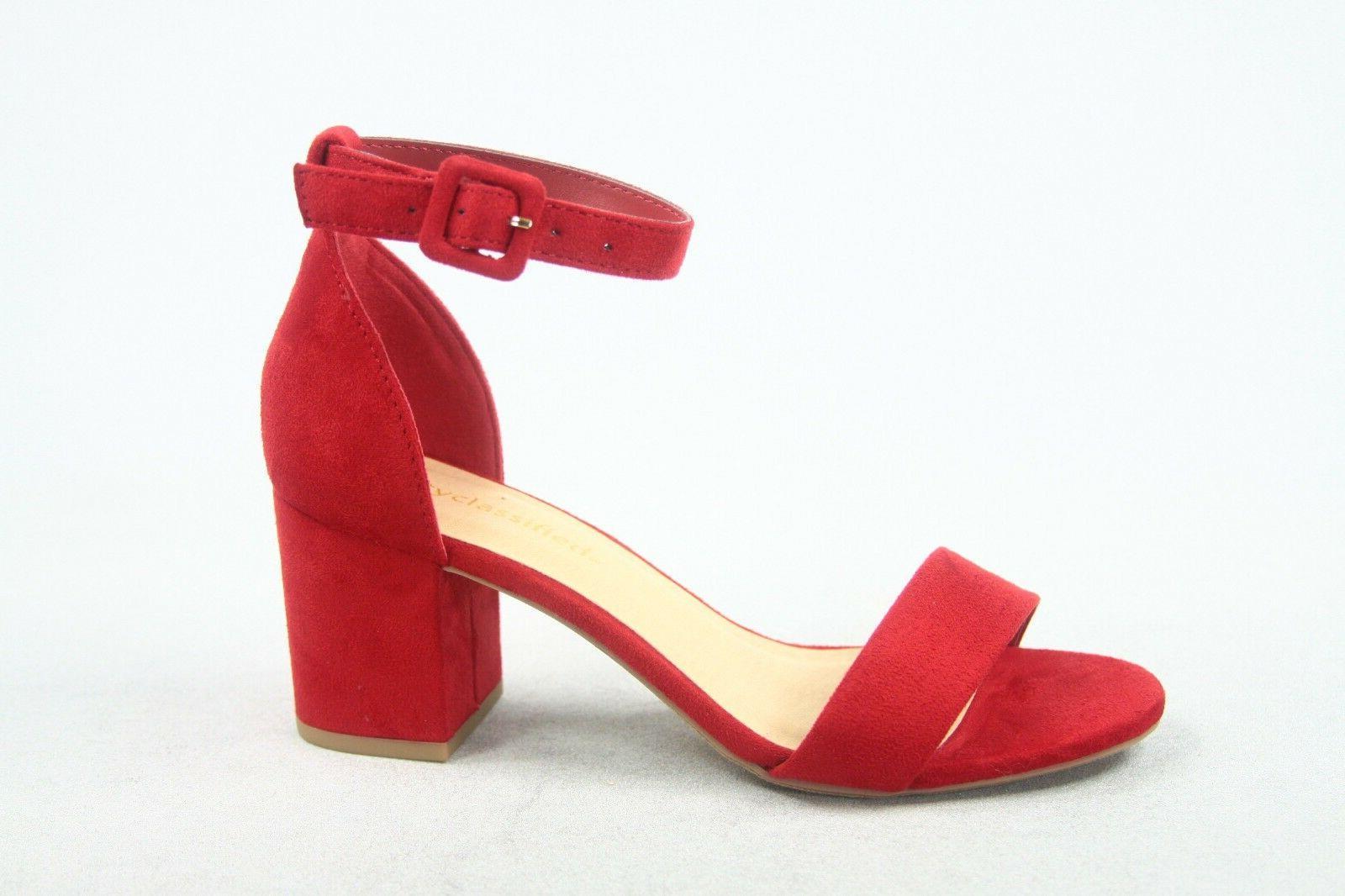 Strap Chunky Dress Sandal Shoes 5