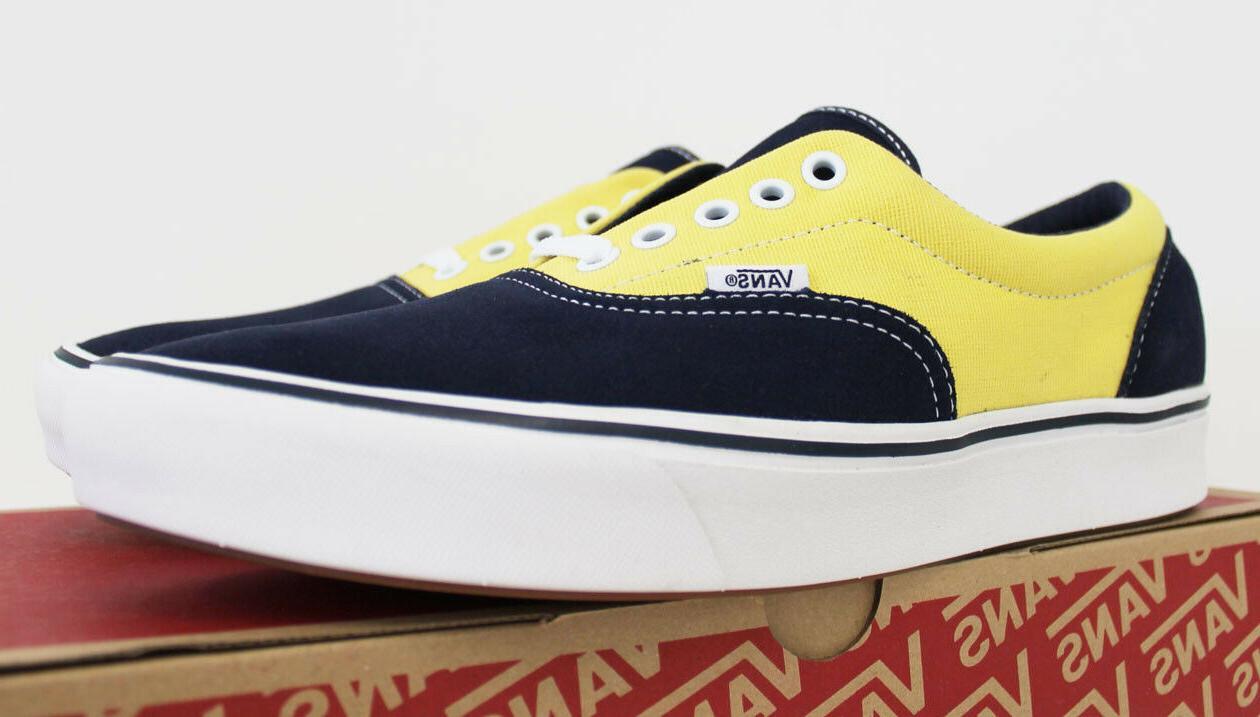 NIB VANS Era Suede Navy Blue Top Shoes