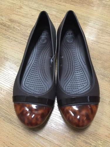 NWT CAP Tortoise FLAT BROWN Authentic Working Shoes