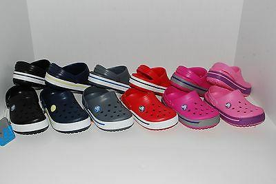 NWT CROCS CROCBAND 2.5 KIDS CLOGS 4/5 6/7 8/9 10/11 12/13 1
