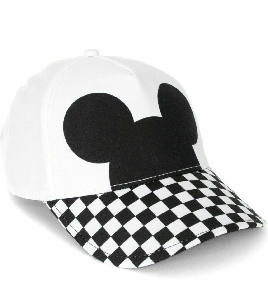 NWT VANS DISNEY Limited CHECKERBOARD MICKEY HAT Strapback BL