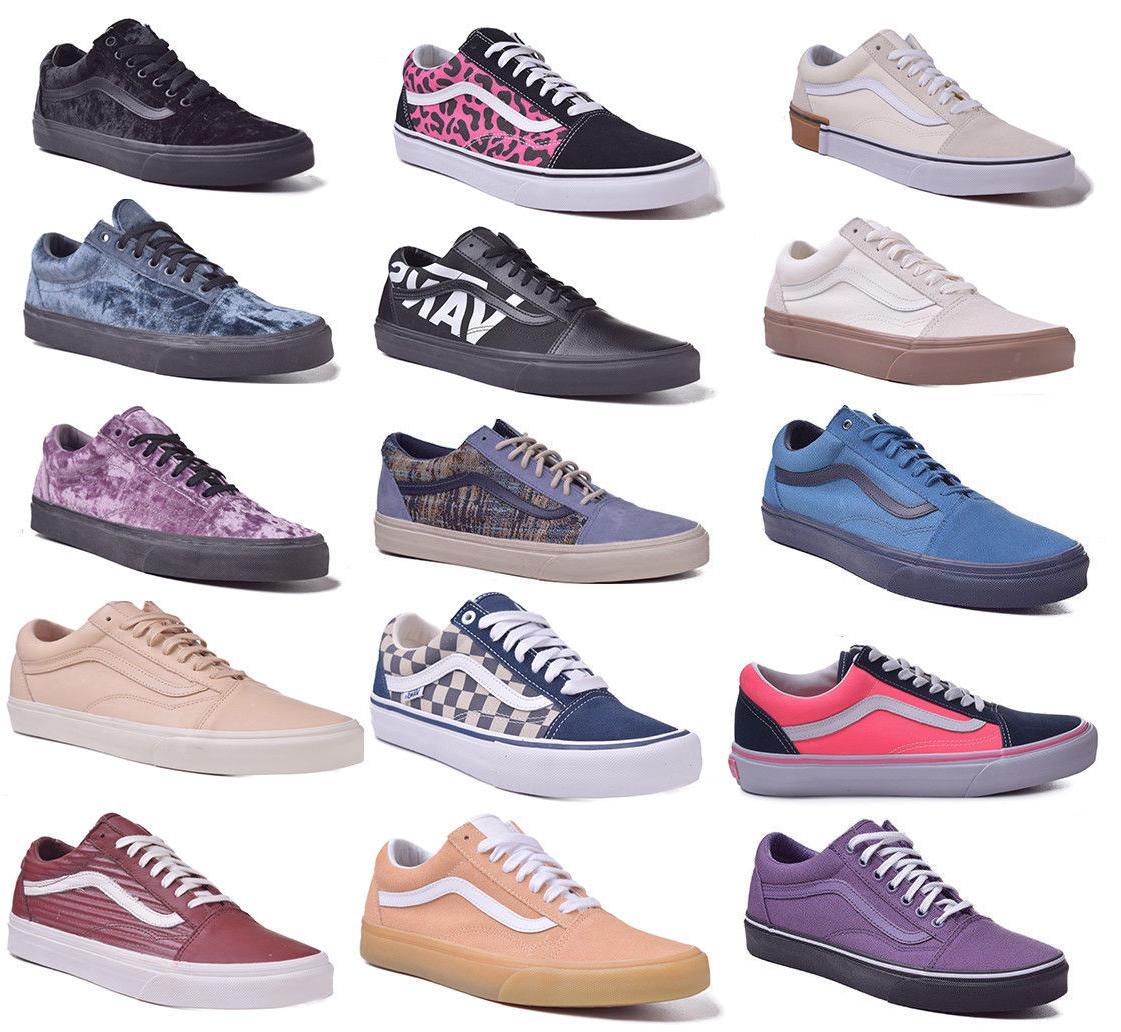 Vans Old Skool Mens/Womens Low Top Skateboard Shoes Choose C