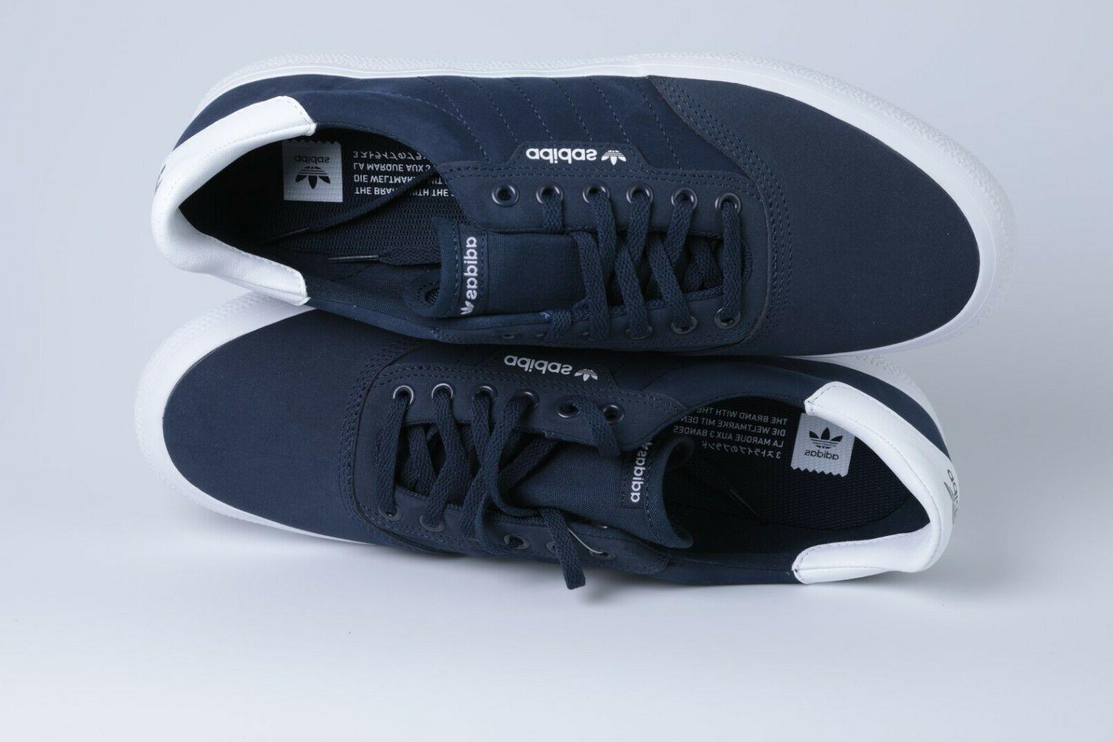 adidas Originals Men's 3MC Regular Fit Collegiate/White M