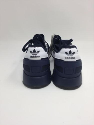 Adidas Originals Running Shoe, 11.5 M US, Navy/White/Black