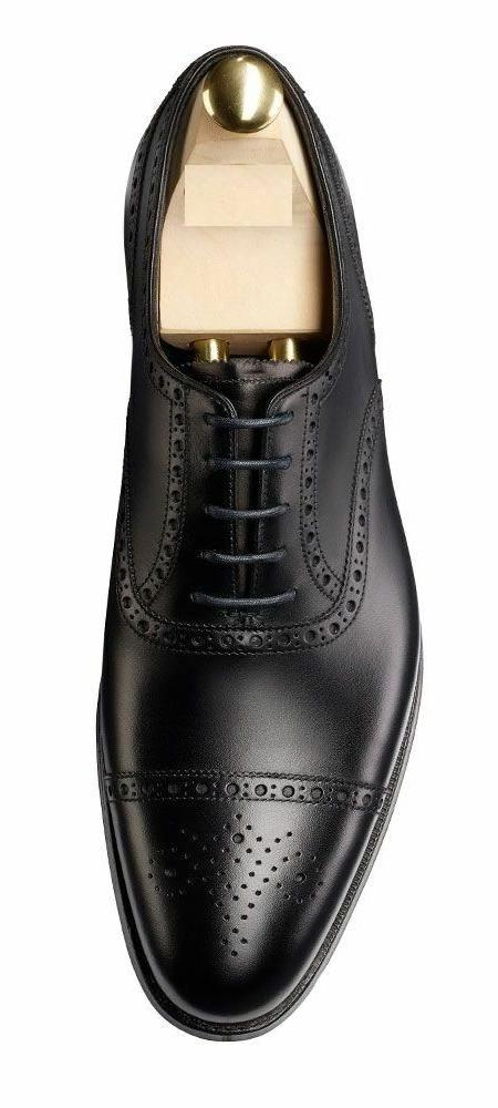 Oxfords Genuine Leather Dress Shoes Wing Tip Casual Formal M