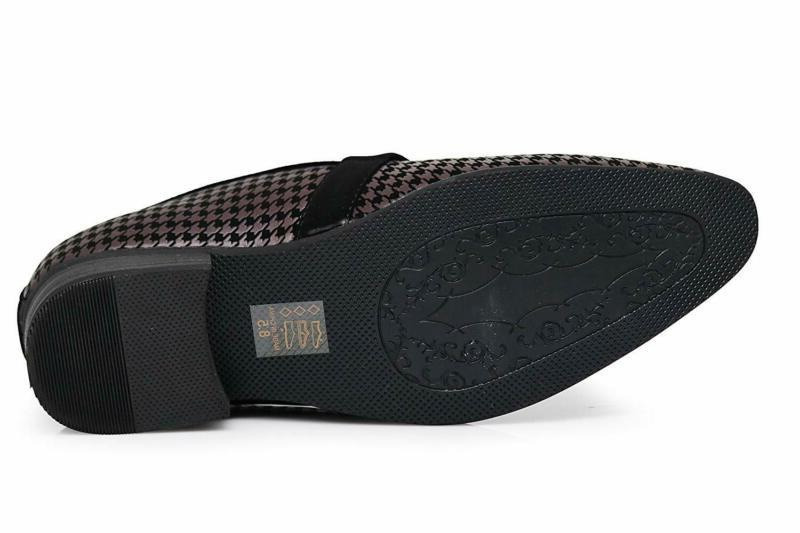 Enzo Romeo Men'S Dress Loafers Elastic Slip On
