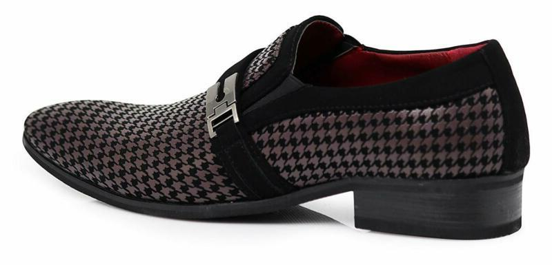 Enzo Romeo Dress Elastic On Buckle Shoes