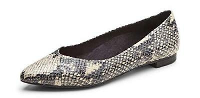 Women's Vionic 'Caballo' Pointy Toe Flat, Size 10 M - Grey