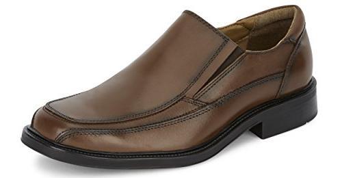 proposal leather slip dress loafer