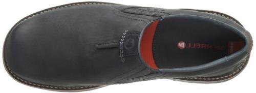 Merrell Men's Realm Slip-On Shoe,Black,10 M