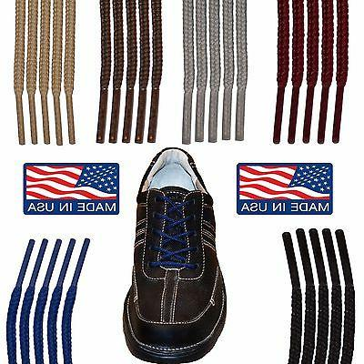 Round Casual Dress Shoelaces - 27 36 40 45 54 63 Inch Shoe S