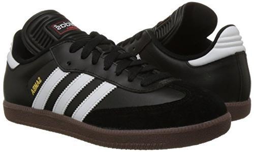 adidas Mens Indoor 1/2 US, Black/White