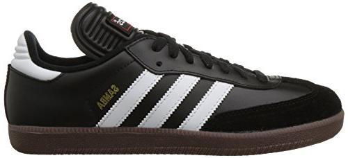 adidas Indoor Soccer Shoe 1/2 Black/White