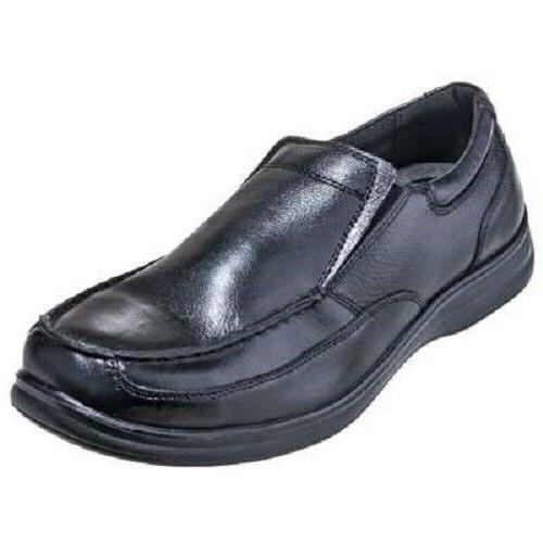 Florsheim Shoes: Women's FS28 Black ESD Steel Toe Slip-On Dr