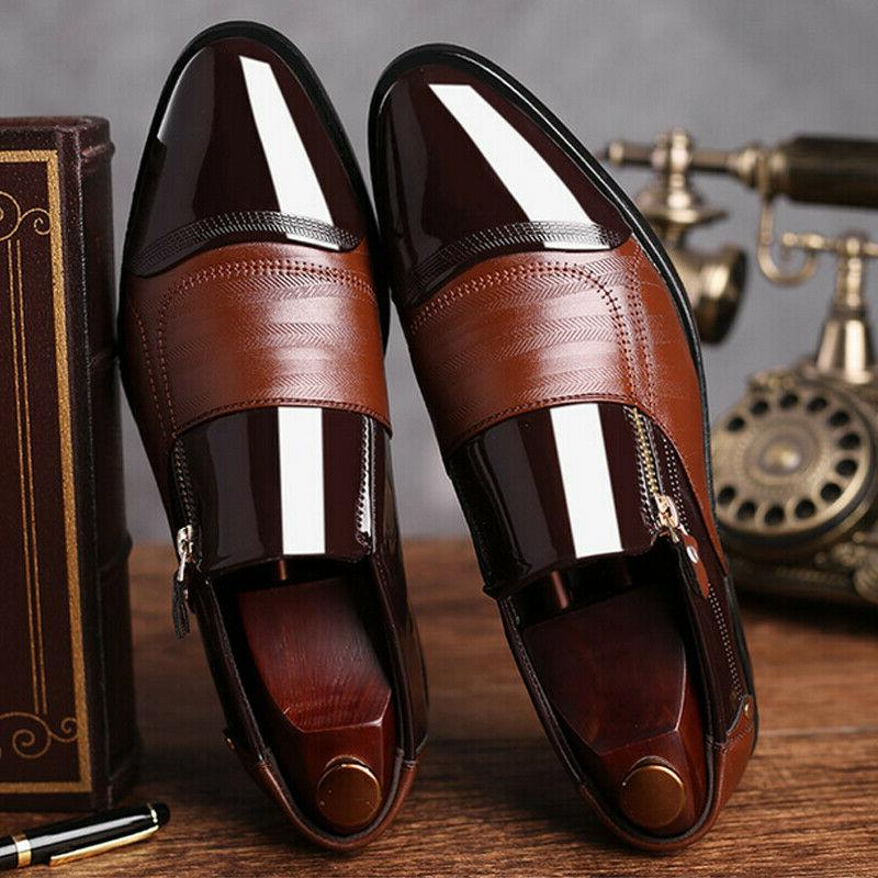 Slip Dress Tuxedo Formal Brogue Toe Leather