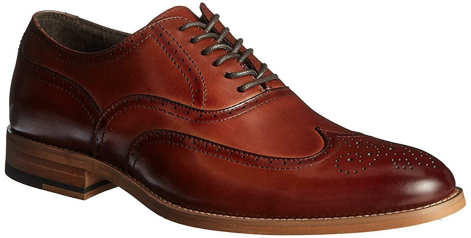 Stacy Adams Men's Wingtip Lace-Up