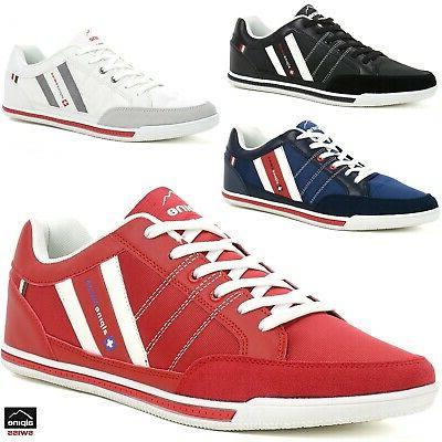 Alpine Swiss Stefan Mens Retro Fashion Sneakers Tennis Shoes