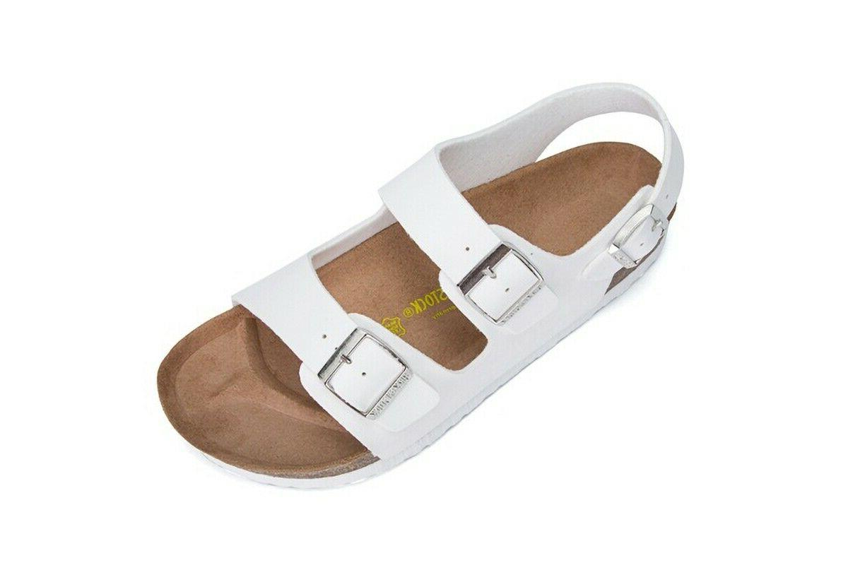 Birkenstock Milano Sandals Ankle Strap Slipper Shoes Slides