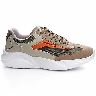 Alpine Stuart Mens Chunky Sneakers Dad Tennis Shoes