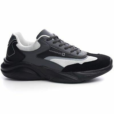 Alpine Stuart Mens Chunky Sneakers Dad Tennis