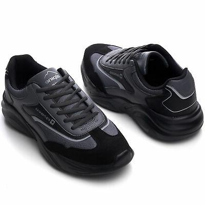 Alpine Swiss Mens Chunky Dad Tennis Shoes