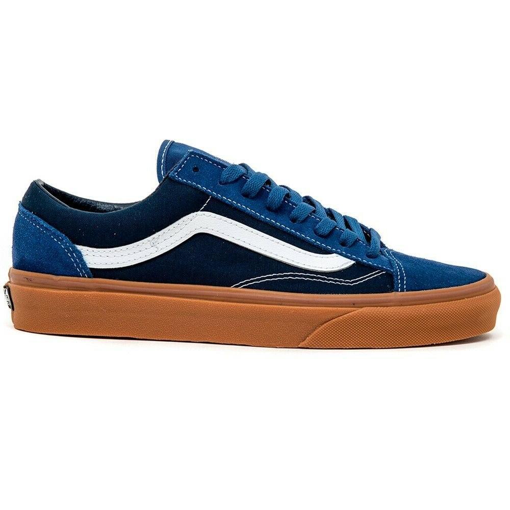Vans 36 Gum True Navy/Dress Blues Skate Shoes Size 11