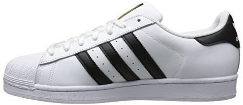 adidas Originals Men's Casual Sneaker, White/Core Black/White, 12.5 M