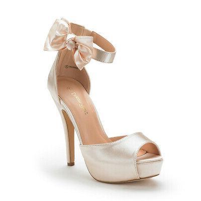 swan 08 womens wedding dress peep toe