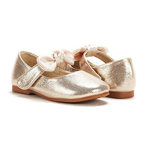 DREAM Gold Jane Ballerina Flat Shoes Size 9