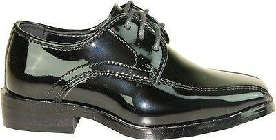 VANGELO/TUX-5 Wrinkle Dress Shoes Black Size 14M