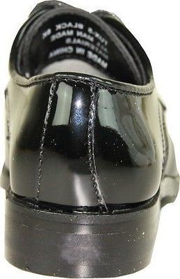 VANGELO/TUX-5 Black Patent Size