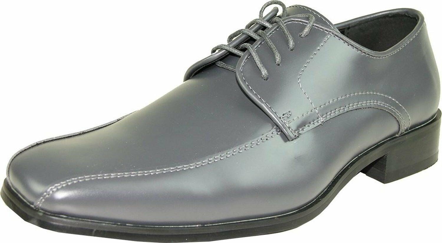 VANGELO/TUX-5 Wrinkle Free Mens Dress Shoes Bicycle Toe Iron