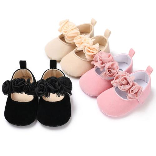 USA Toddler Party Shoes Baby Girl Wedding Dress Shoes Bowkno