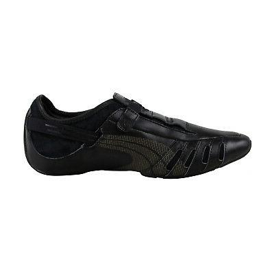 Puma Vedano Black Dress Slip Loafers