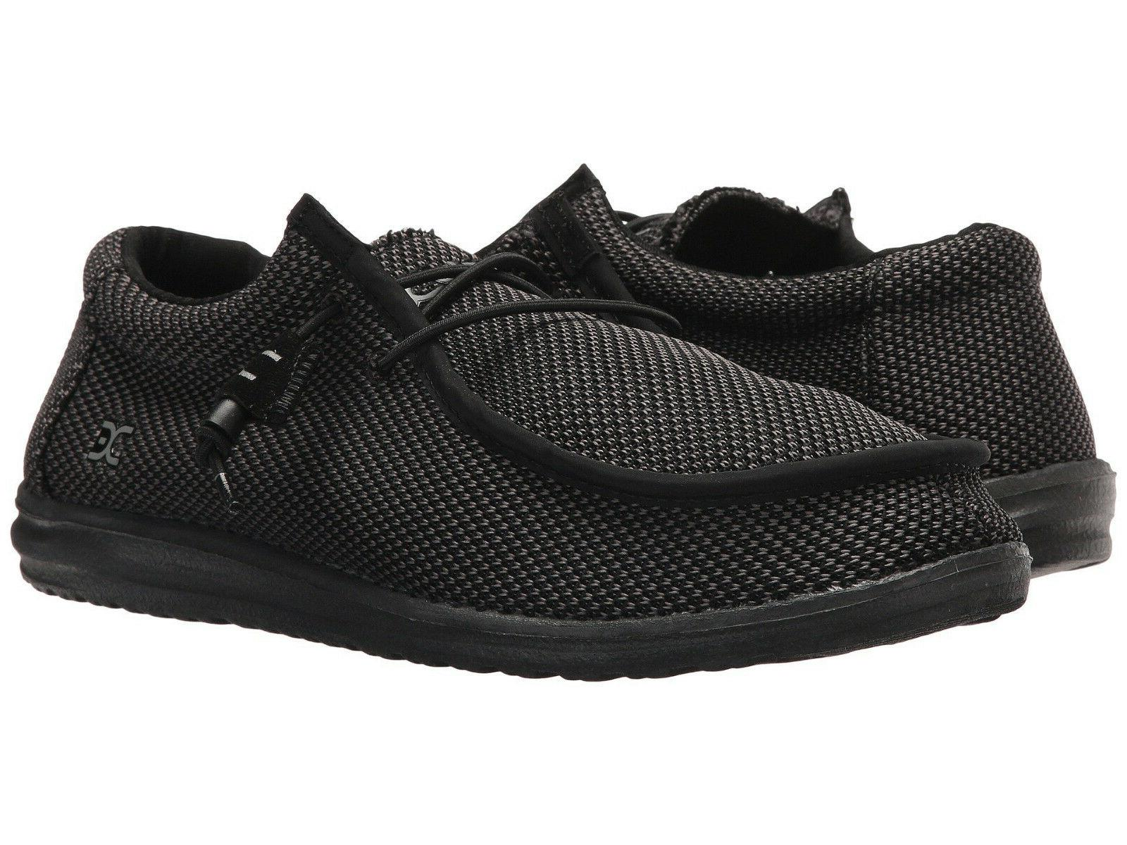 wally l sox men s shoes black