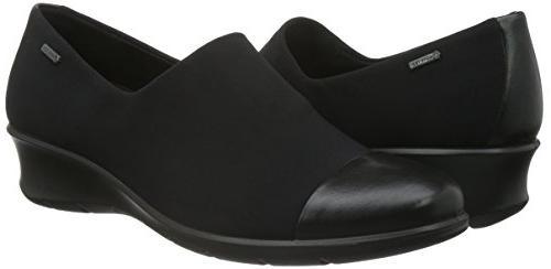 Women's Waterproof Loafer, 8-8.5US / Black