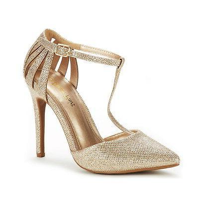 DREAM Women Dress High Heel Toe Wedding Pumps Shoes