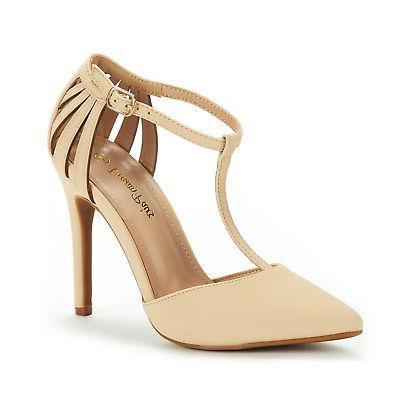 DREAM PAIRS Women Dress High Heel Toe Pumps