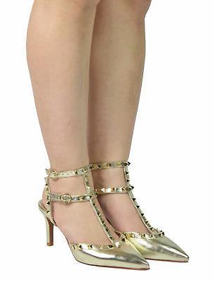 DREAM Dress Stilettos Pointed Toe Mid