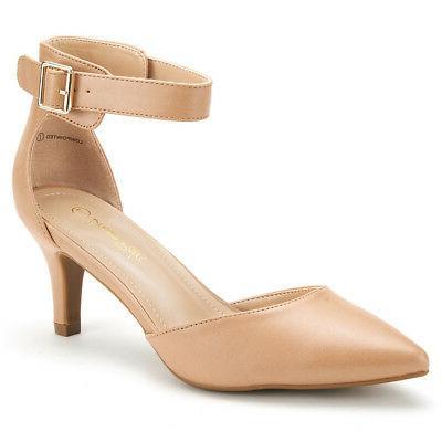 DREAM Ankle Strap Stilettos Wedding Shoes