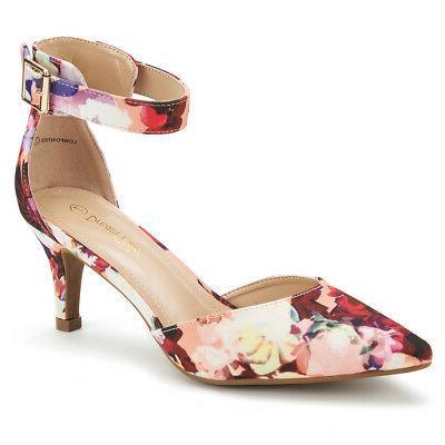 DREAM PAIRS Women's Dress Low Heel Wedding Pumps