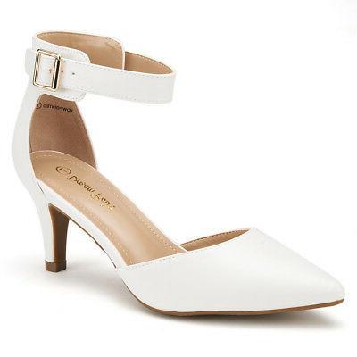 DREAM PAIRS Strap Pointed Stilettos Wedding Shoes