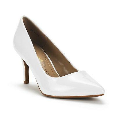 DREAM PAIRS Womens Fashion Wedding Pointed Toe High Dress Pumps