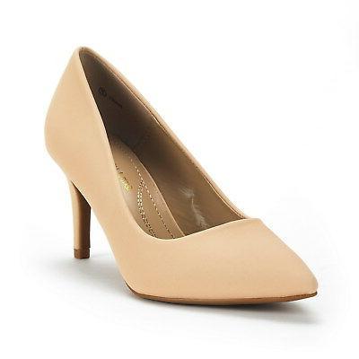 DREAM PAIRS Fashion Wedding Pointed High Heel Dress Pumps Shoes