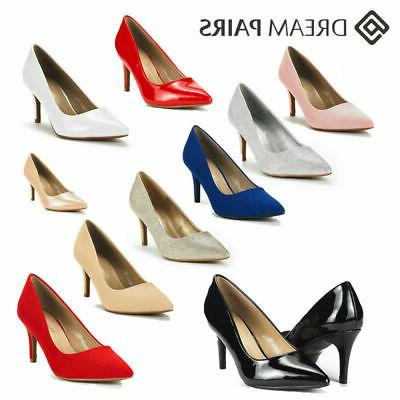 DREAM PAIRS Women's Kucci Fashion Pointed Toe High Heel Dres