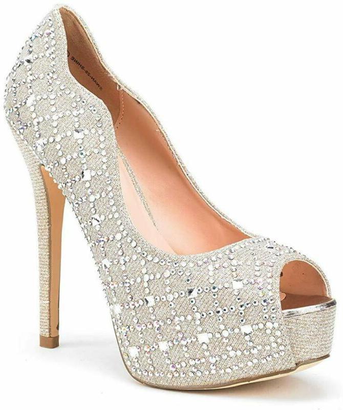 Dream Pairs Women'S High Heels Platform Dress Pump Shoes