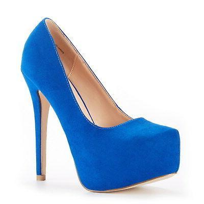 DREAM Women Classic Colors High Heel Plaform Dress Shoes 5-11
