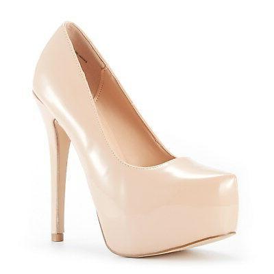 DREAM Lady Classic Heel Plaform Dress Shoes
